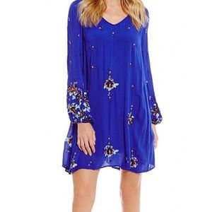 Free People Dresses - Free People- Oxford Embroidered Mini